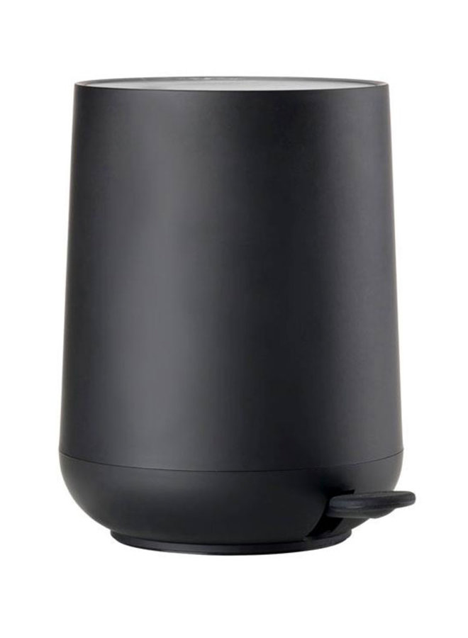 black pedal bin Nova 3 liters, with soft touch
