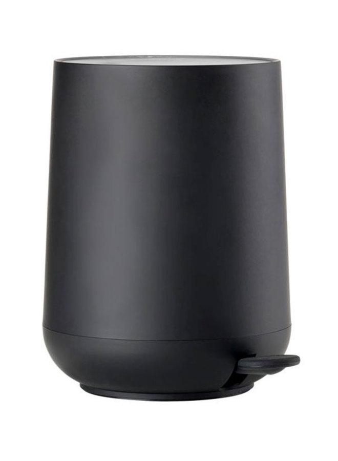 zwarte pedaalemmer Nova 3 liter, met soft touch