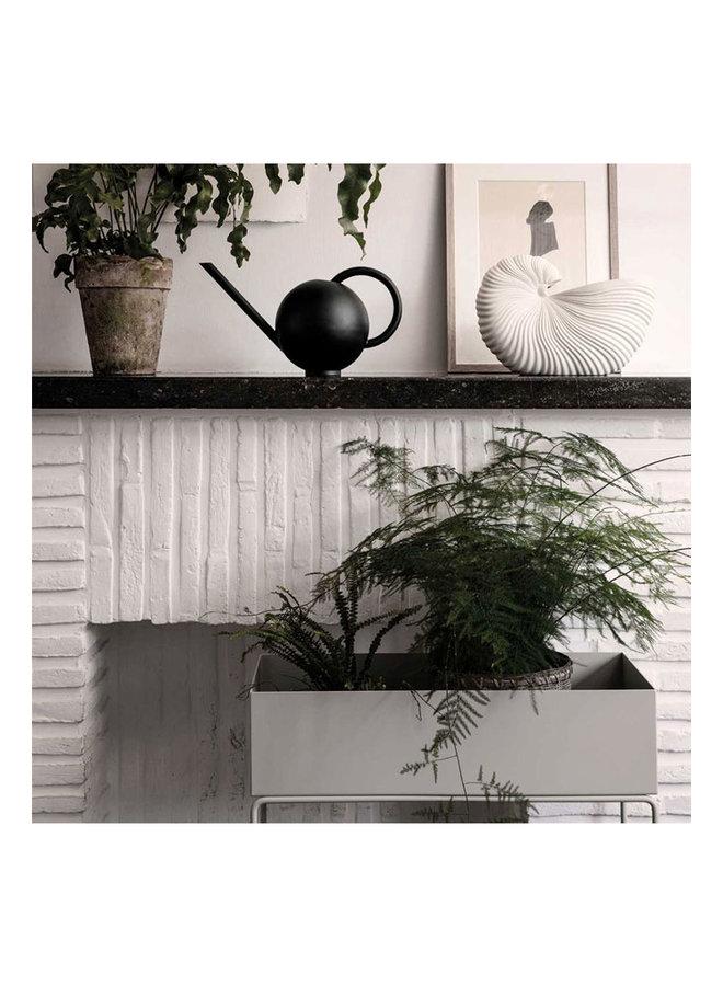 Muscheltopf, off white Wohnobjekt. Kann auch als Vase verwendet werden.