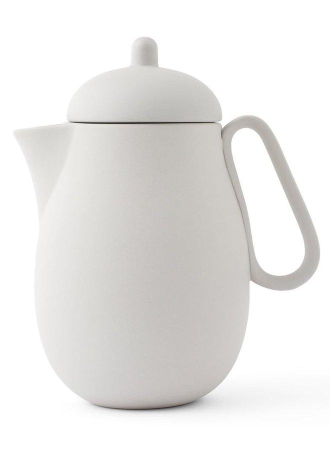 teapot Nina soft grey