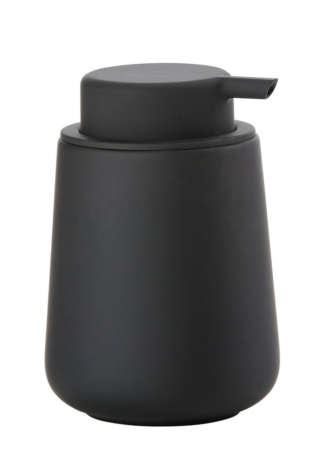 Nova One black soap dispenser