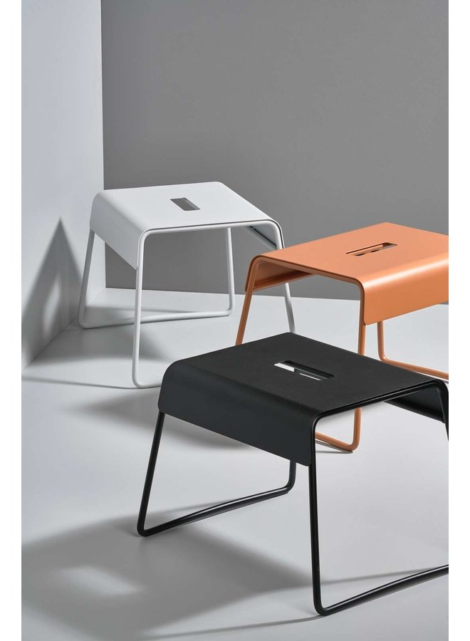 Zone Denmark steel stool A-stool in black, super practical and stylish