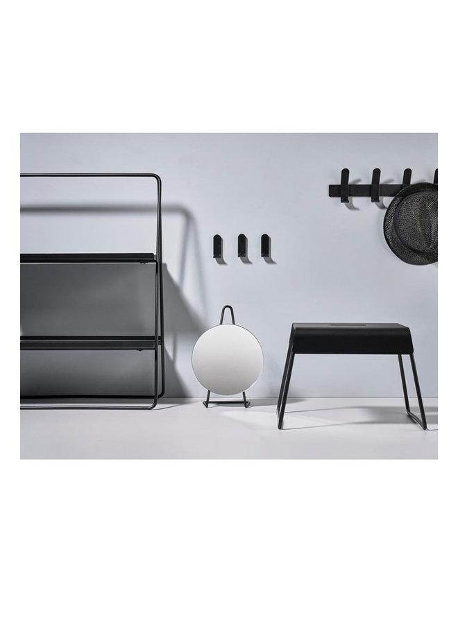 Zone Denmark stalen kruk A-stool in zwart, super praktisch en stijlvol