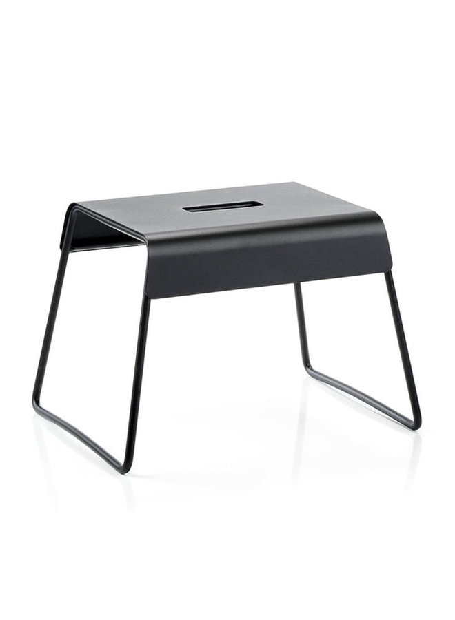 A-stool stool in black