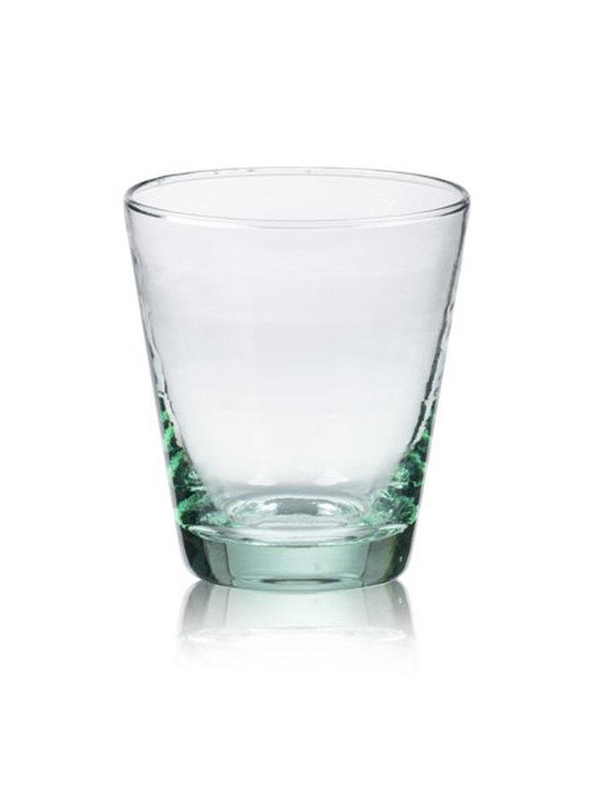 Wasserglas grün