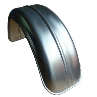 """Garde-boue plat """"Rib"""" en acier galvanisé 180MM"""