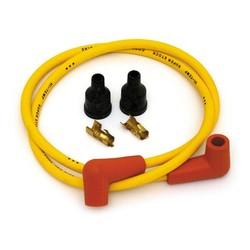Kit câble d'allumage Accel en cuivre 7MM jaune
