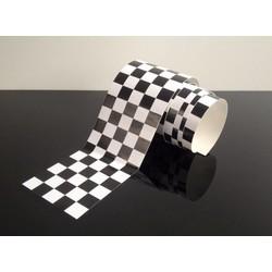 Racevlag Sticker 1 Meter