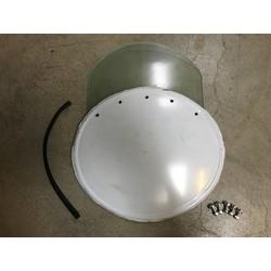 Number Plate / Screen Combi Fairing - Bend