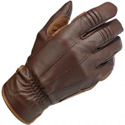 Biltwell Gants de travail brun chocolat