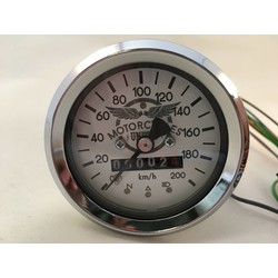 60MM BMW Speedo Chrome + 4 Extra Functions