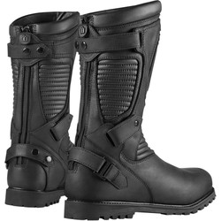 One Thousand Prep Boots Stealth Zwart