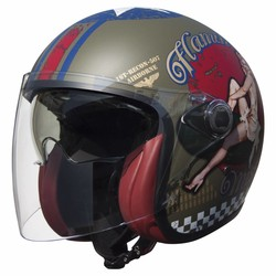 Vangarde Jet helmet Pin Up Military  size S