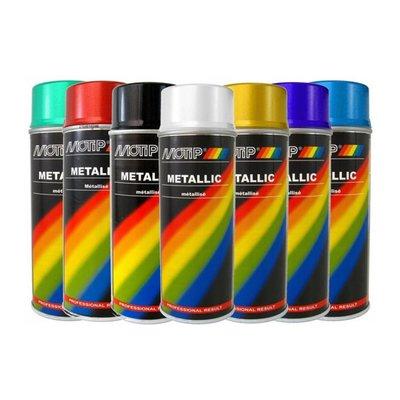 Motip Metallic-Lackierung 400ML (verschiedene Farben !)