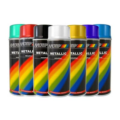 Motip Metallic paint 400ML (Different Colors !)