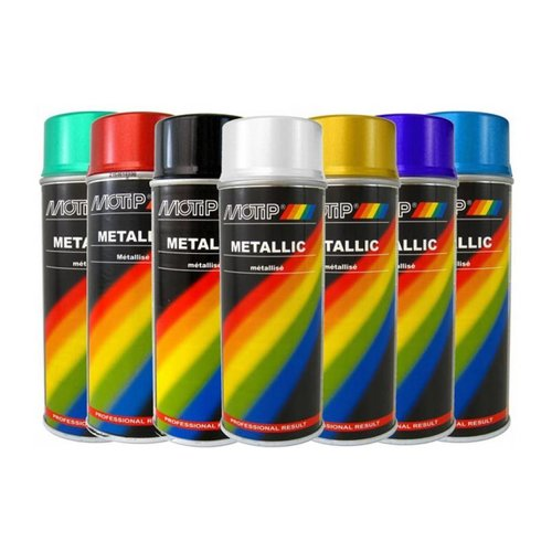 Motip Metallic paint 400ML (Different Colours!)