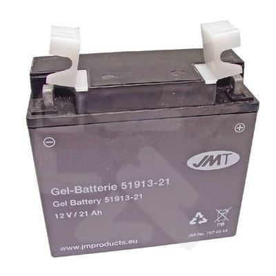 JMT 519.13/51913  Gel Motorradbatterie 21A BMW & Laverda