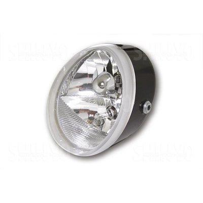 Shin Yo Universal Scheinwerfer OVAL mit Standlicht, schwarz