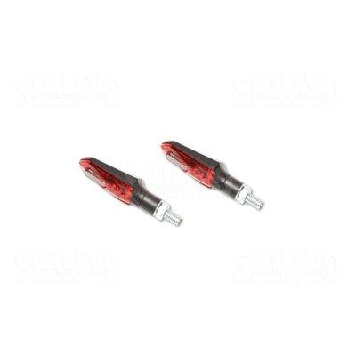 Shin Yo LED Rücklicht/Blinker Arrowhead, Rot/Getönt