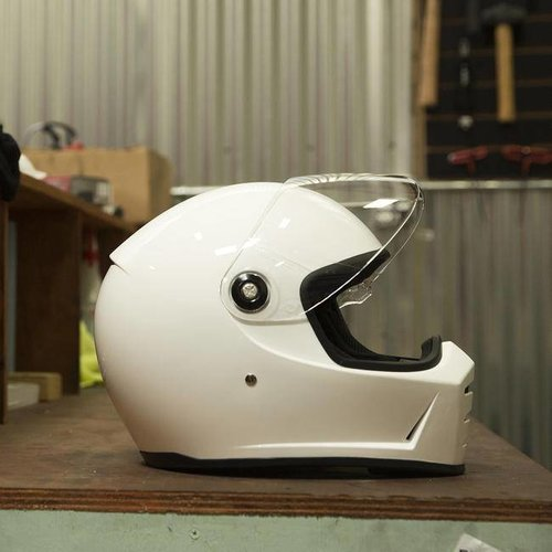Biltwell Lane Splitter - Gloss White