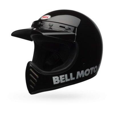 Bell Moto-3 Classic Helm Schwarz