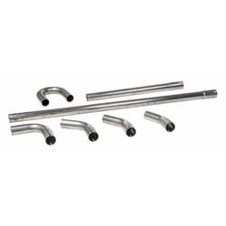 38MM Kit de tuyaux d'échappement en acier inoxydable (au choix)
