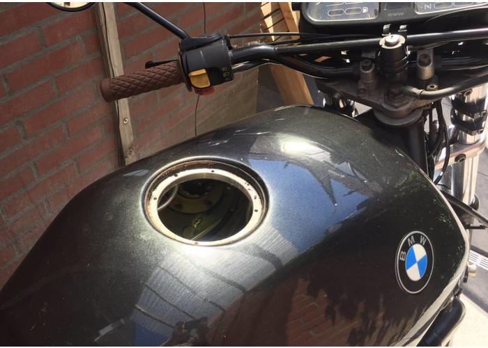 """2.5"""" Monza Tankdeckel Eloxiert mit Adapter für BMW K"""