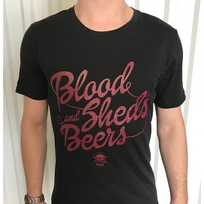 """T-shirt """"Blood, Sheds and Beers"""""""