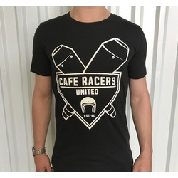 Cafe Racers United Exhaust T-Shirt