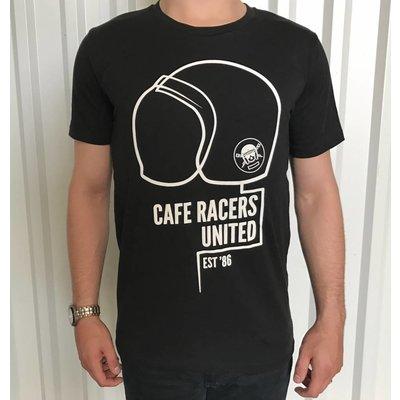 MCU T-shirt casque Cafe Racers United