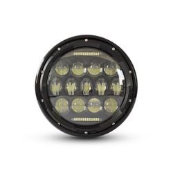 """Phare avant noir Multi LED 7"""""""