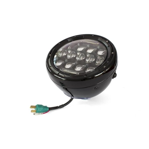 "7"" Multi Projector LED Koplamp Black"