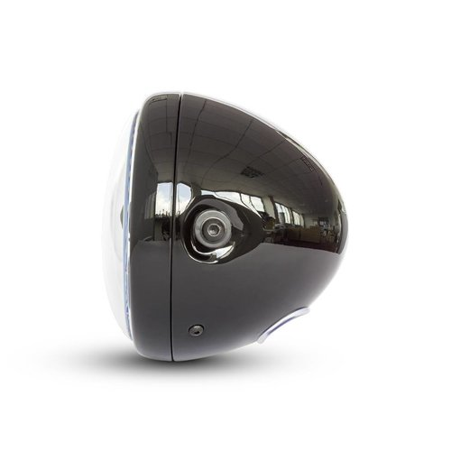 """7  """"Multi LED Koplamp + Indicatoren Zwart"""