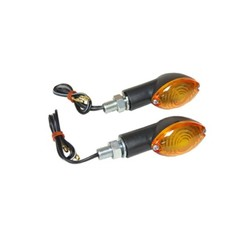 12 V 21 W Mini richtingaanwijzerset CAT EYE Amber / Zwart