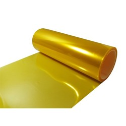 30x30cm Yellow Headlight Foil