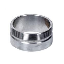 """Steel 2.5"""" Weld-On Thread Collar / Fuel Neck Flange Monza Cap"""