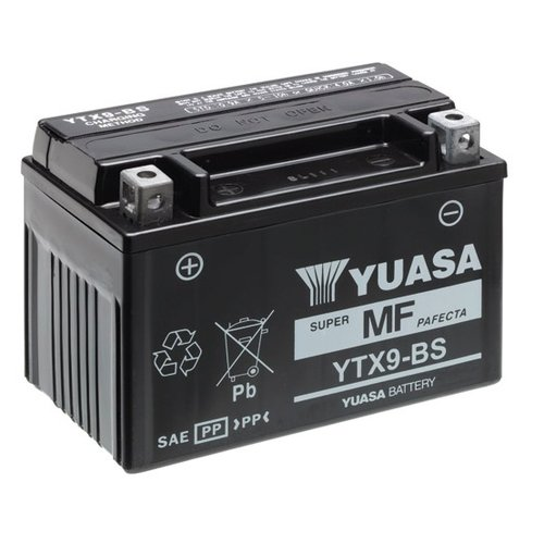 Yuasa YTX9-BS Battery Maintenance-free