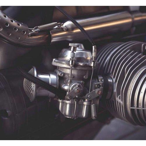 BMW Choke Conversie Set Vanaf de 9/'80 Modellen - Zwart