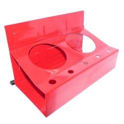 Porte-outils magnétique avec supports de bombe aérosol 21 x 11 CM