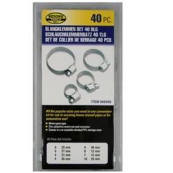 Kit de colliers de serrage - 40 pièces