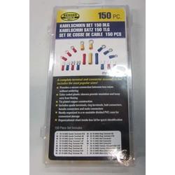 Set de cosses pour câble - 150 pièces