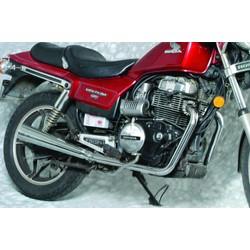 Honda CB 400/450 Double système d'échappement 2-en-2