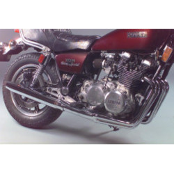 Yamaha XS 1100 4-in-2 uitlaat