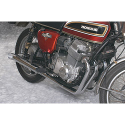 Honda CB 900 Vervangingsdemper UitschakelenHonda CB 900 Vervangende Geluiddemper Turn Out