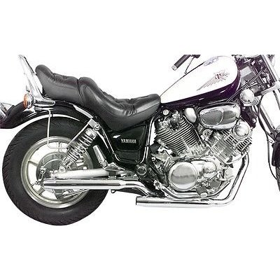 MAC Exhausts Yamaha Virago 500 Auspuff Staggered Slash Cut
