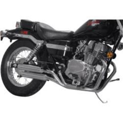 Honda VT 700/800 Exhaust System Staggered Slash Cut