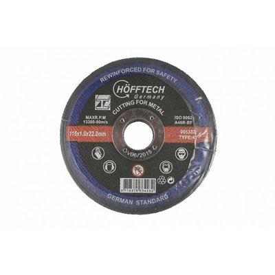 Disque de coupe en métal 115 mm