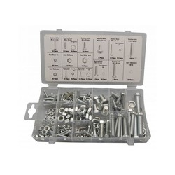 Bolt- and Nut selection 240 pieces