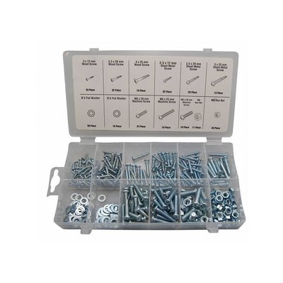 Bolt- and Nut selection 347 piece