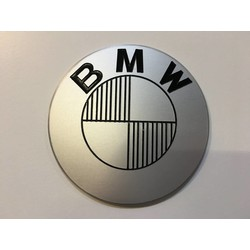 Handmade BMW 70MM Emblems Brushed Type 3